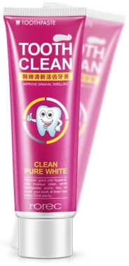 Rorec Tooth Clean White Pure (клюква)